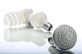 LEDs Are Small, Very Efficient Solid Bulbs. New LED Bulbs Are Grouped In  Clusters With Diffuser Lenses Which Have Broadened The Applications For LED  Use In ...